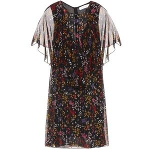 See by Chloe Silk Floral Silk Dress